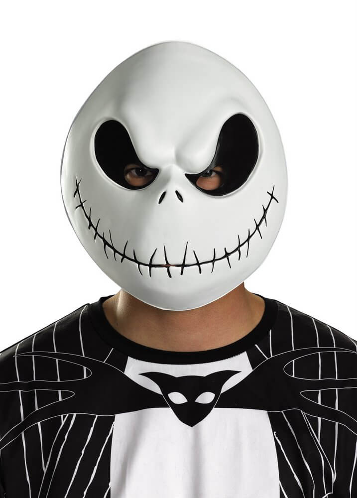 nightmare before christmas jack skellington plastic mask - Jack From Nightmare Before Christmas