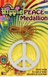 Peace Sign Medallion Necklace