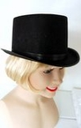 Permafelt Black Top Hat - Adult or Child