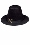 Black Pilgrim Man Hat
