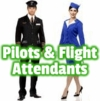 Pilot & Flight Attendant Costumes