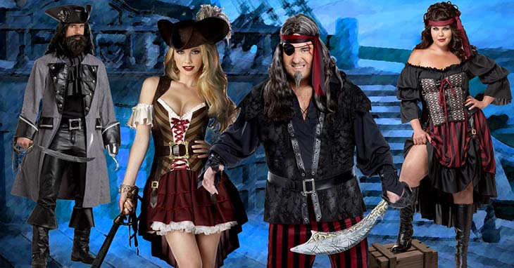 cd9f2f5c Pirate Costumes for Men, Women and Kids