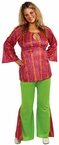 Plus Size 60's Girl Adult Costume