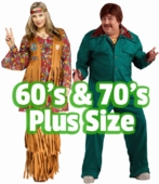 Plus Size 60's and 70's Costumes