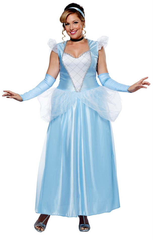 3ad116e903ad7 Plus Size Adult Classic Cinderella Costume - Candy Apple Costumes ...
