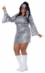 Plus Size Adult Disco Sensation Costume