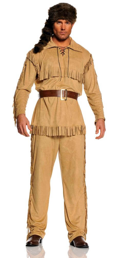 Adult Frontier Man Costume Candy Apple Costumes Wild West Costumes