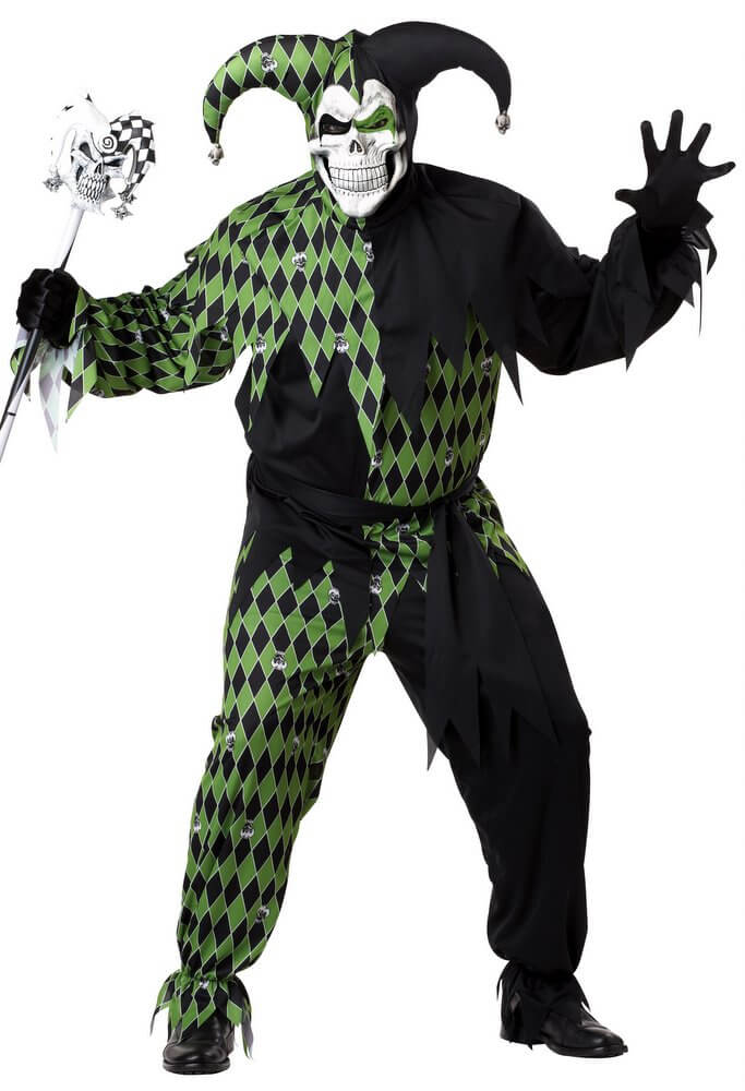 Plus Size Adult Jokeu0027s on You Evil Jester Costume  sc 1 st  Candy Apple Costumes & Plus Size Adult Jokeu0027s on You Evil Jester Costume - Candy Apple ...