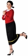 Plus Size Adult Olive Oyl Costume
