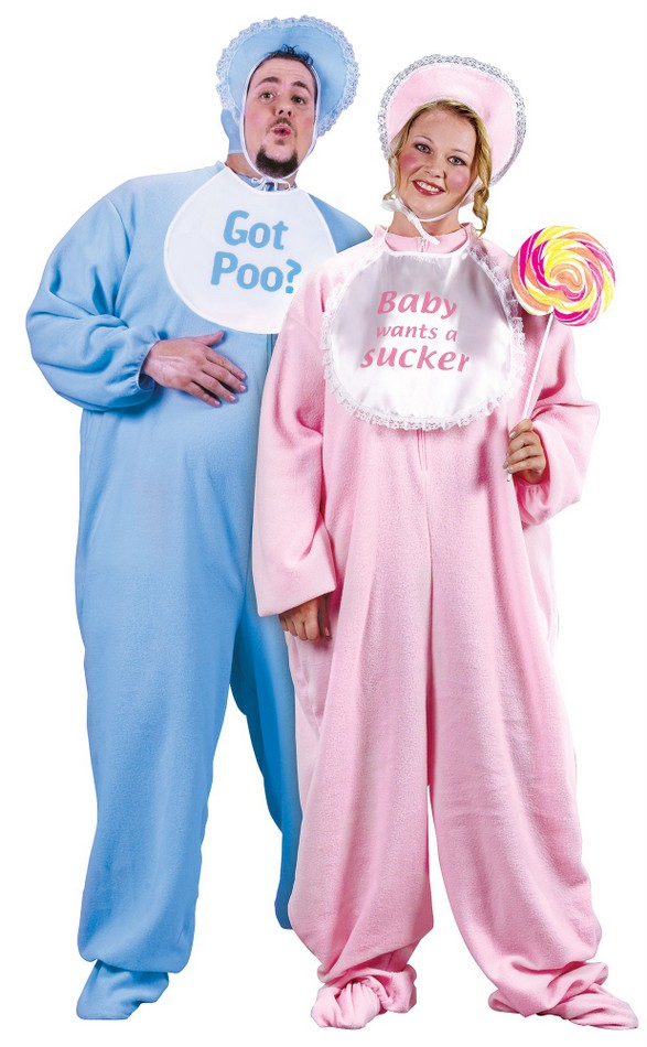 Plus Size Adult Pajama Baby Costume  sc 1 st  Candy Apple Costumes & Plus Size Adult Pajama Baby Costume - Candy Apple Costumes - 3X and ...