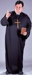 Plus Size Adult Priest Costume
