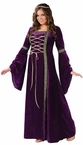 Plus Size Adult Purple Renaissance Lady Costume