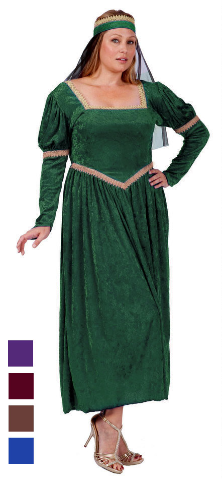 Plus Size Adult Renaissance Princess Costume - More Colors  sc 1 st  Candy Apple Costumes & Plus Size Adult Renaissance Princess Costume - More Colors - Candy ...