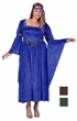 Plus Size Adult Renaissance Queen Costume - More Colors