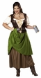 Plus Size Adult Tavern Maiden Costume