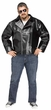 Plus Size Black 50's Rock 'N' Roll Jacket