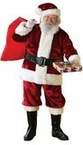 Plus Size Crimson Premier Plush Santa Claus Suit