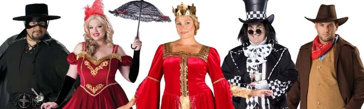 Plus Size Deluxe Costumes