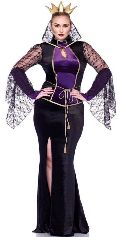 Plus Size Deluxe Disney Evil Queen Costume - Candy Apple Costumes ...