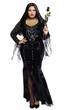 Plus Size Deluxe Frightfully Beautiful Costume