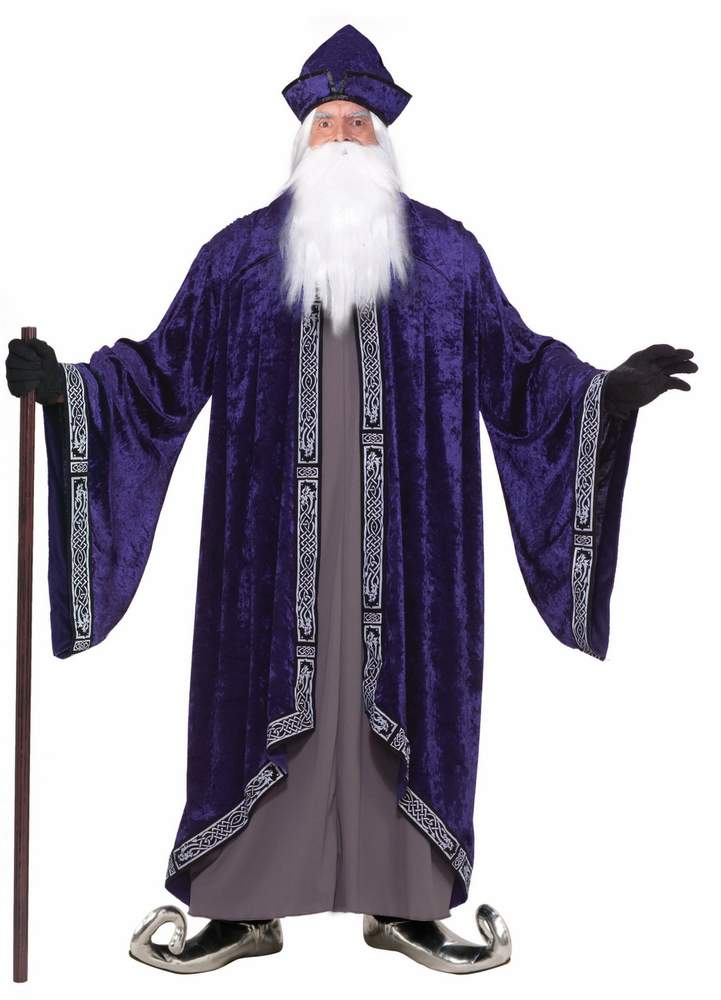 Plus Size Deluxe Wizard XXXL Costume - See All Plus Size Costumes