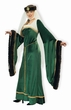 Plus Size Designer Adult Noble Lady Medieval Costume