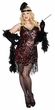 Plus Size Dreamgirl Dames Like Us Flapper Costume