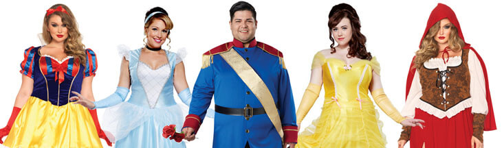 Plus Size Fairy Tale Costumes