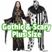 Plus Size Gothic & Scary Costumes