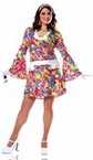 Plus Size Groovy Chic Go Go Costume