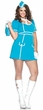 Plus Size Leg Avenue Classic Flight Attendant Costume