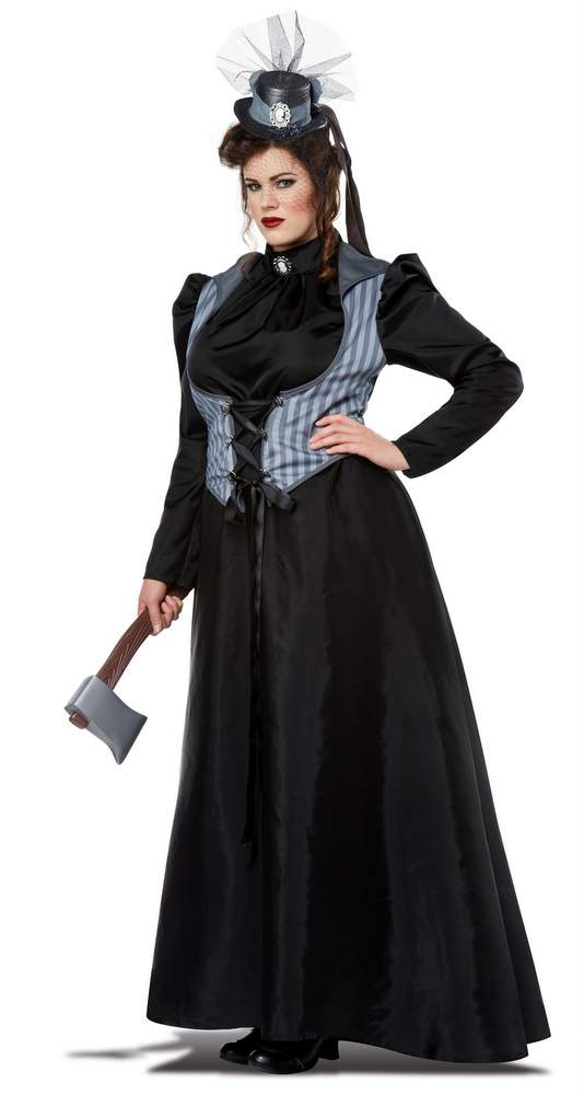 Plus Size Lizzie Borden Victorian Lady Costume Candy Apple