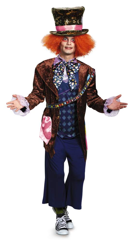 plus size mad hatter costume - alice through the looking glass