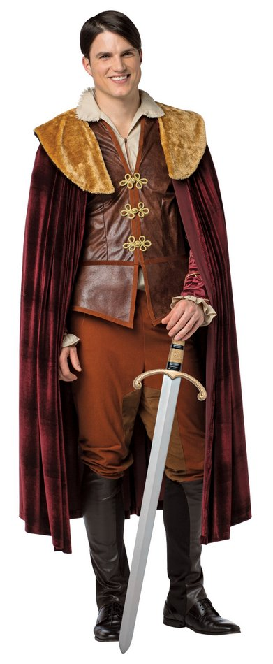 plus size mens prince charming costume once upon a time