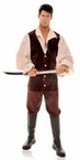 Plus Size Men's Renaissance Buccaneer Costume