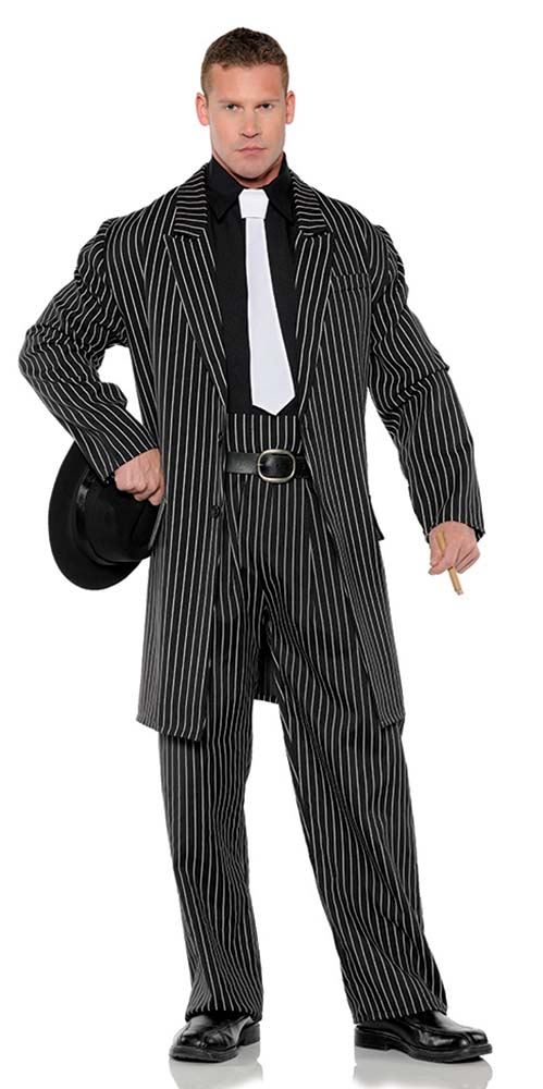 4d0f12d64ba Plus Size Men s Wise Guy Gangster Costume - Candy Apple ...