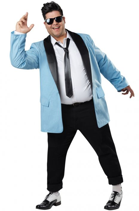 Plus Size Men S 50s Teen Idol Costume Candy Apple
