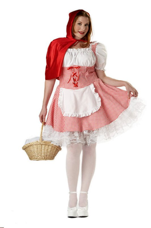 52b15daf327 Plus Size Miss Red Riding Hood Costume - Candy Apple Costumes ...