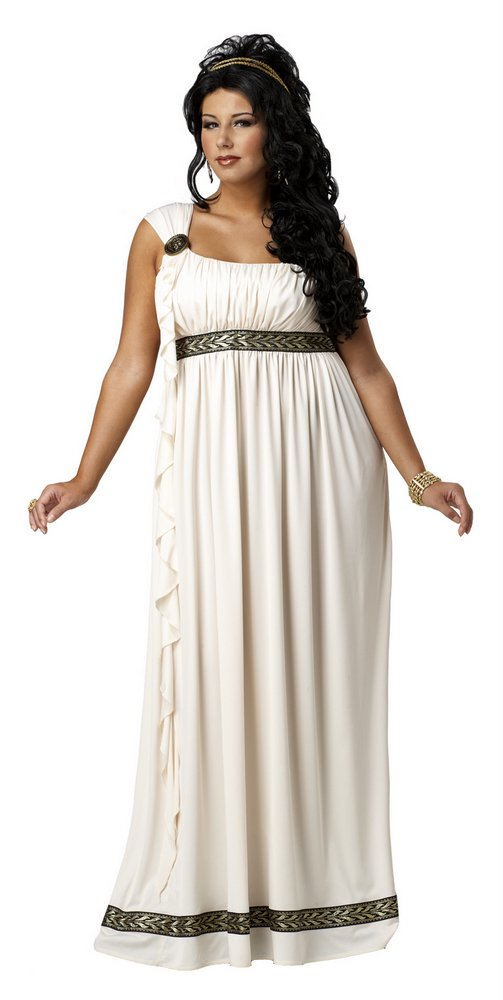 Plus Size Olympian Goddess Costume - Candy Apple Costumes
