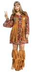 Plus Size Peace and Love Hippie Costume