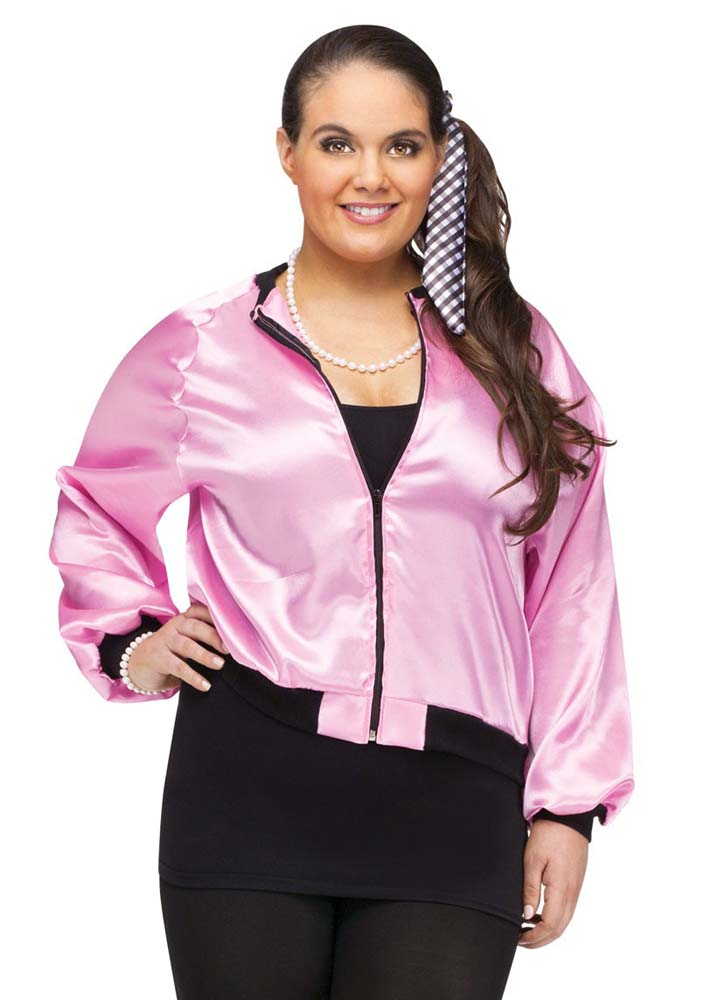 36ab78ccae9 Plus Size Pink 50 s Ladies Jacket - Candy Apple Costumes - 50 s ...
