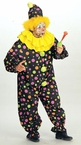 Plus Size Polka Dot Clown Costume