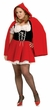 Plus Size Sexy Red Riding Hood Costume