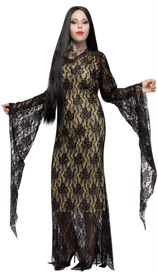 plus size women 39 s deluxe miss darkness costume candy apple costumes plus size gothic scary. Black Bedroom Furniture Sets. Home Design Ideas