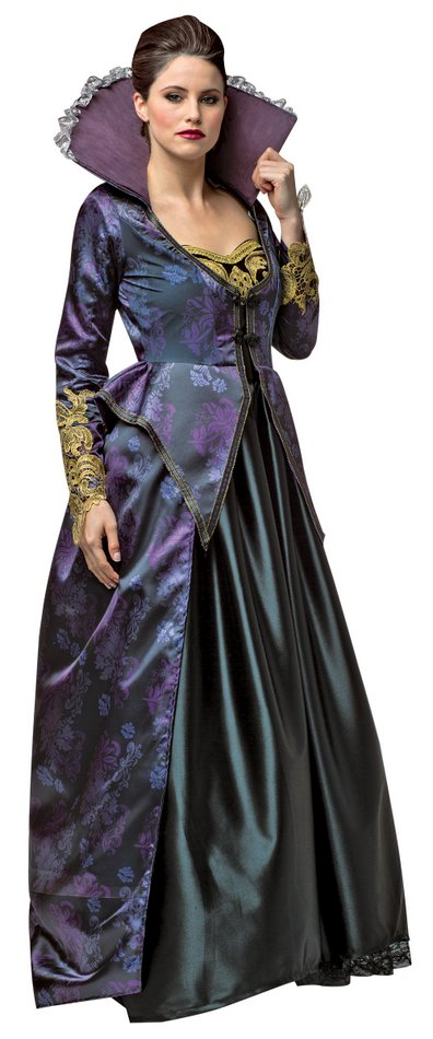 Plus Size Women's Evil Queen Costume - Once Upon a Time ...