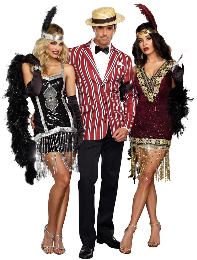 plus size womens sophisticated lady flapper costume
