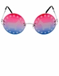 Democrat Donkey Political Rimless Sunglasses