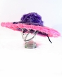 Purple/Pink Faux Fur Pimp Hat