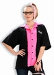 Women's Queen Pin Hot Pink Bowling Shirt