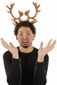 Reindeer Antlers With Ears Headband